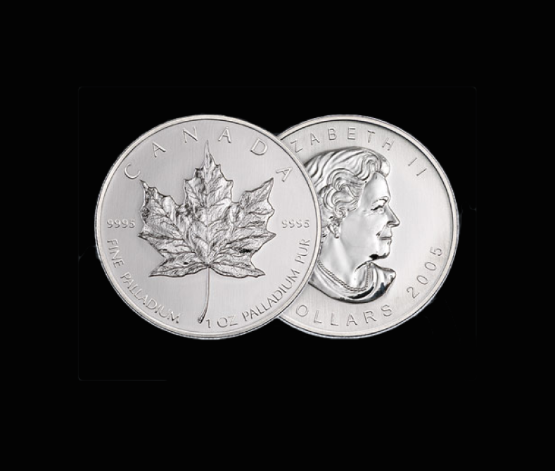 Palladium coins