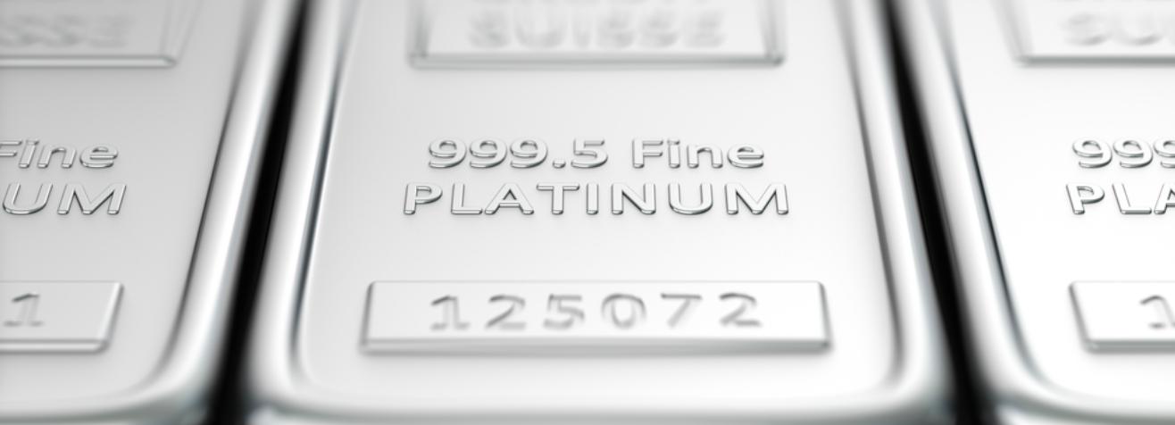 Platinium bars